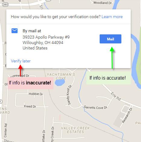 Google Local Map 2016