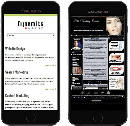 responsive website benfits