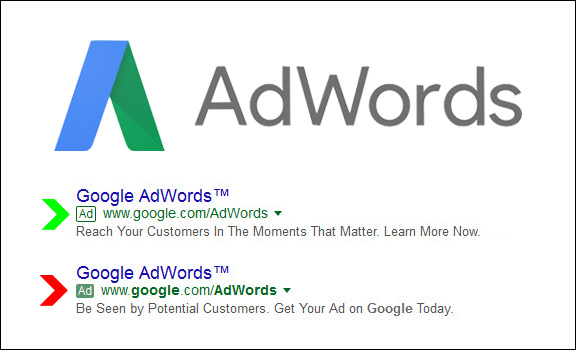 Google AdWords Label Update: When Less Green Is More Green