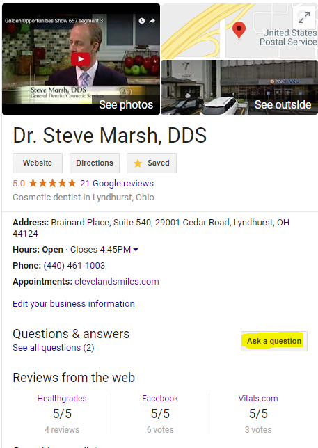 Dr. Steve Marsh Profile