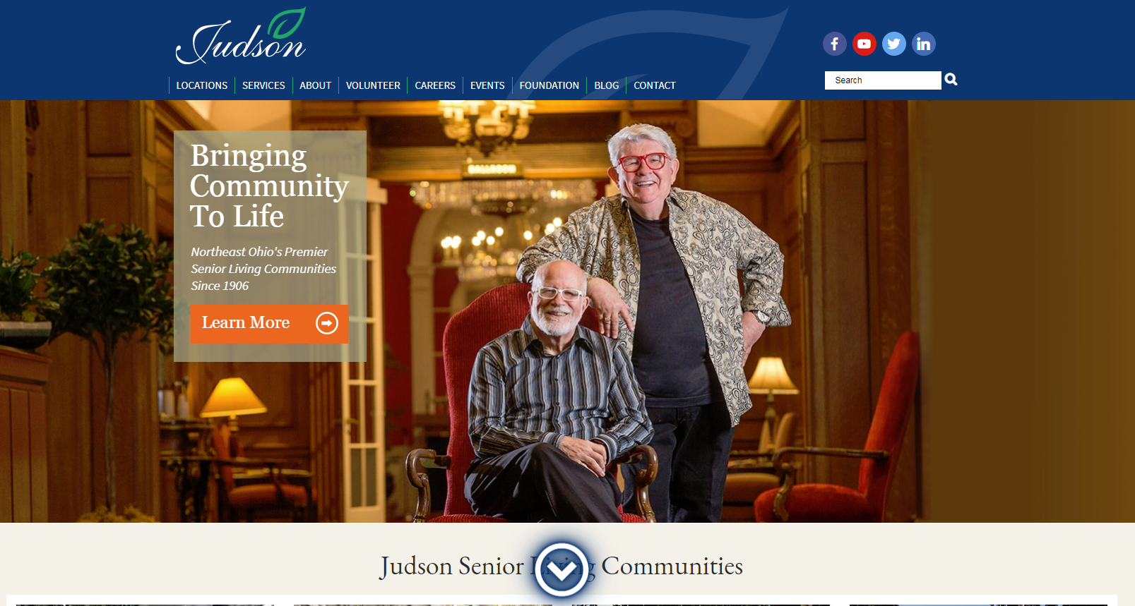 Judson Smart living website