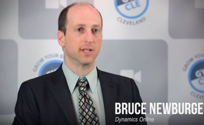 Bruce Newburger Featured in the Grow Your Business Cleveland Video Series